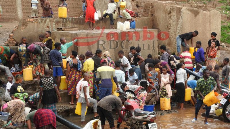 Bukavu : La pénurie d'eau salubre expose des populations aux maladies hydriques
