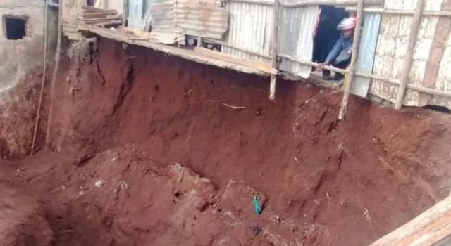 Bukavu : Deux morts dans un éboulement de terre au quartier Panzi