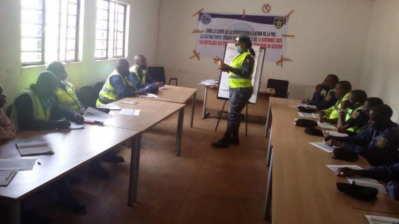 Sud-Kivu : La police de la MONUSCO forme la PCR sur la bonne gestion du trafic routier