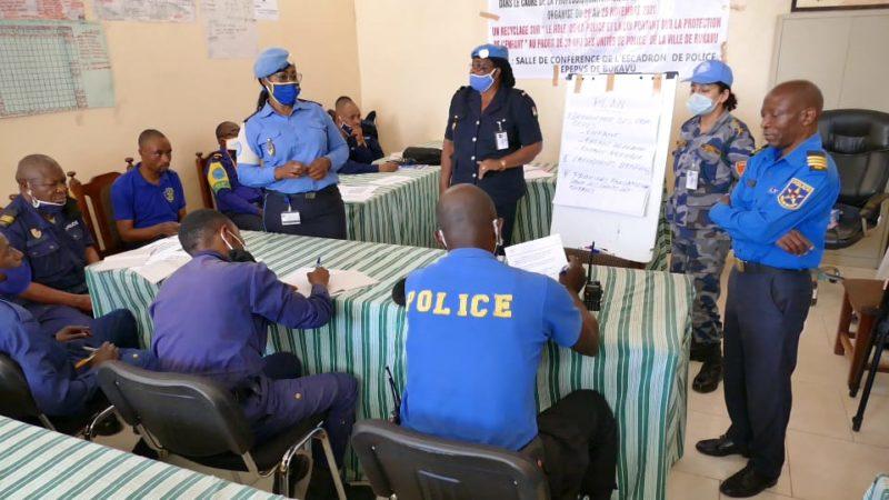 Sud-Kivu: Des policiers à l'école du savoir sur leur rôle vis-à-vis des droits des enfants
