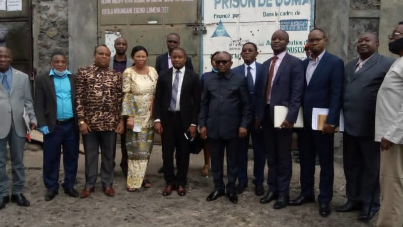 Nord-Kivu : Insécurité alimentaire dans la prison de Munzenze, le ministre national de la justice promet une solution rapide