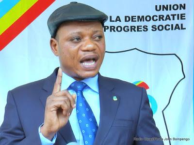 Consultations en RDC: «Le temps de sauver la nation du système de prédation est arrivé» Jean-Marc Kabund