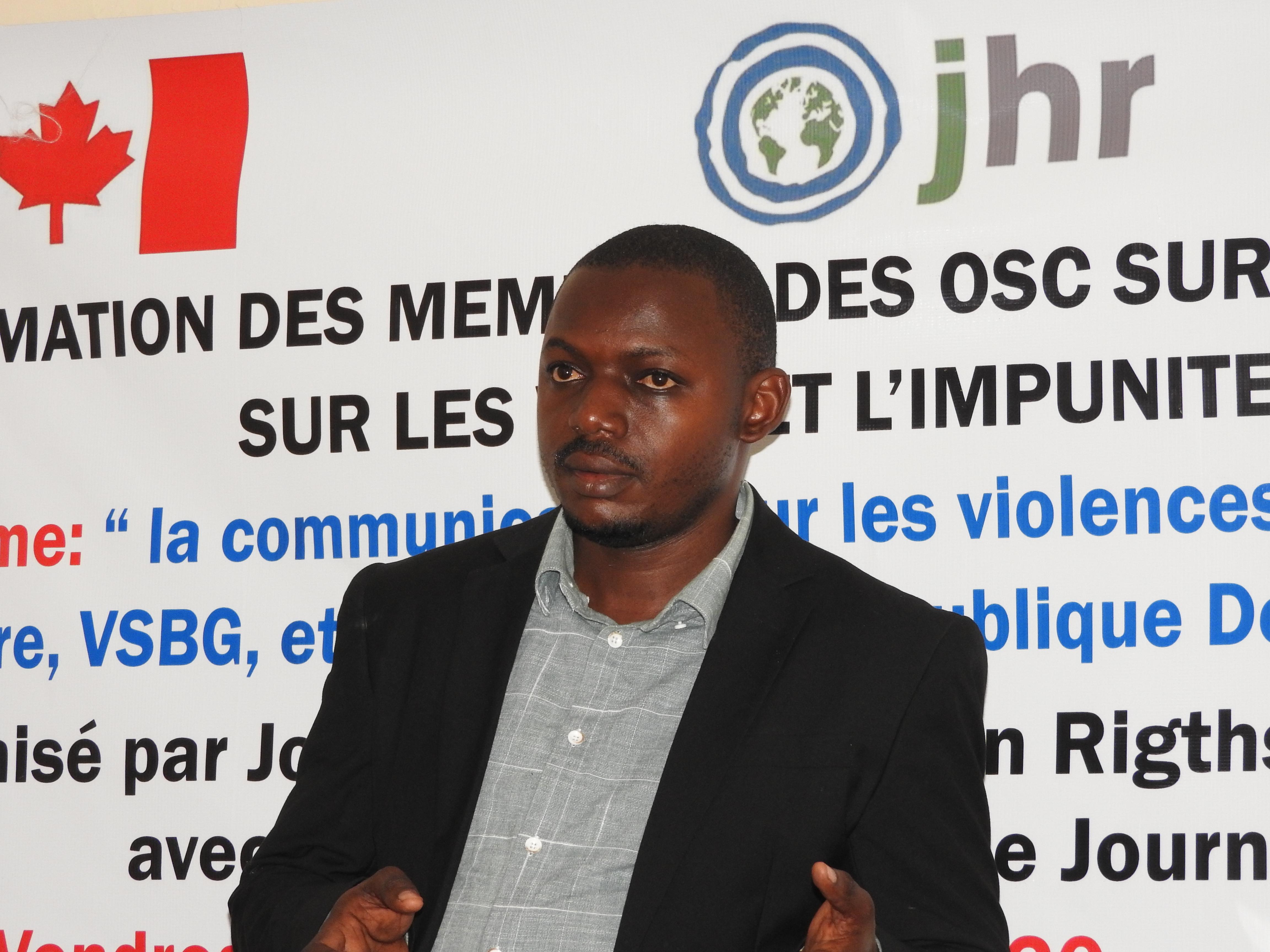 RDC: Prince Murhula, lauréat du prix «Patriote en Or» 5ème Edition dans la catégorie Presse
