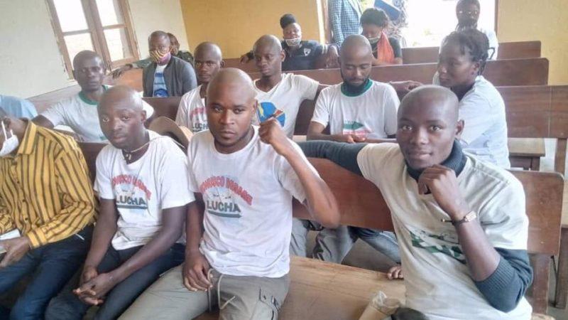 Beni: Audience en flagrance des militants de la Lucha accusés de désobéissance de certaines mesures de Félix Tshisekedi