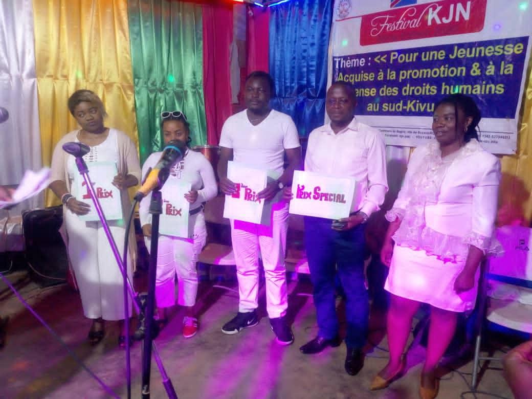 Festival KJN 6ème Edition: Trois chansons primées pour leur promotion et défense des droits humains