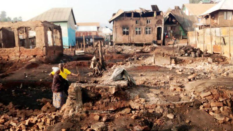 Bukavu : Les victimes de l'incendie du pesage lancent un SOS aux autorités provinciales