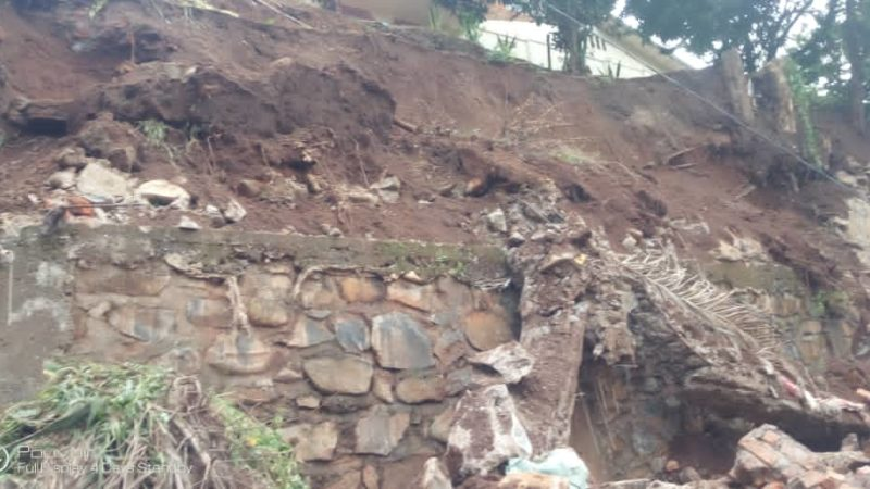 Bukavu : Un mort et un blessé dans un écroulement d'un mur sur avenue Saio