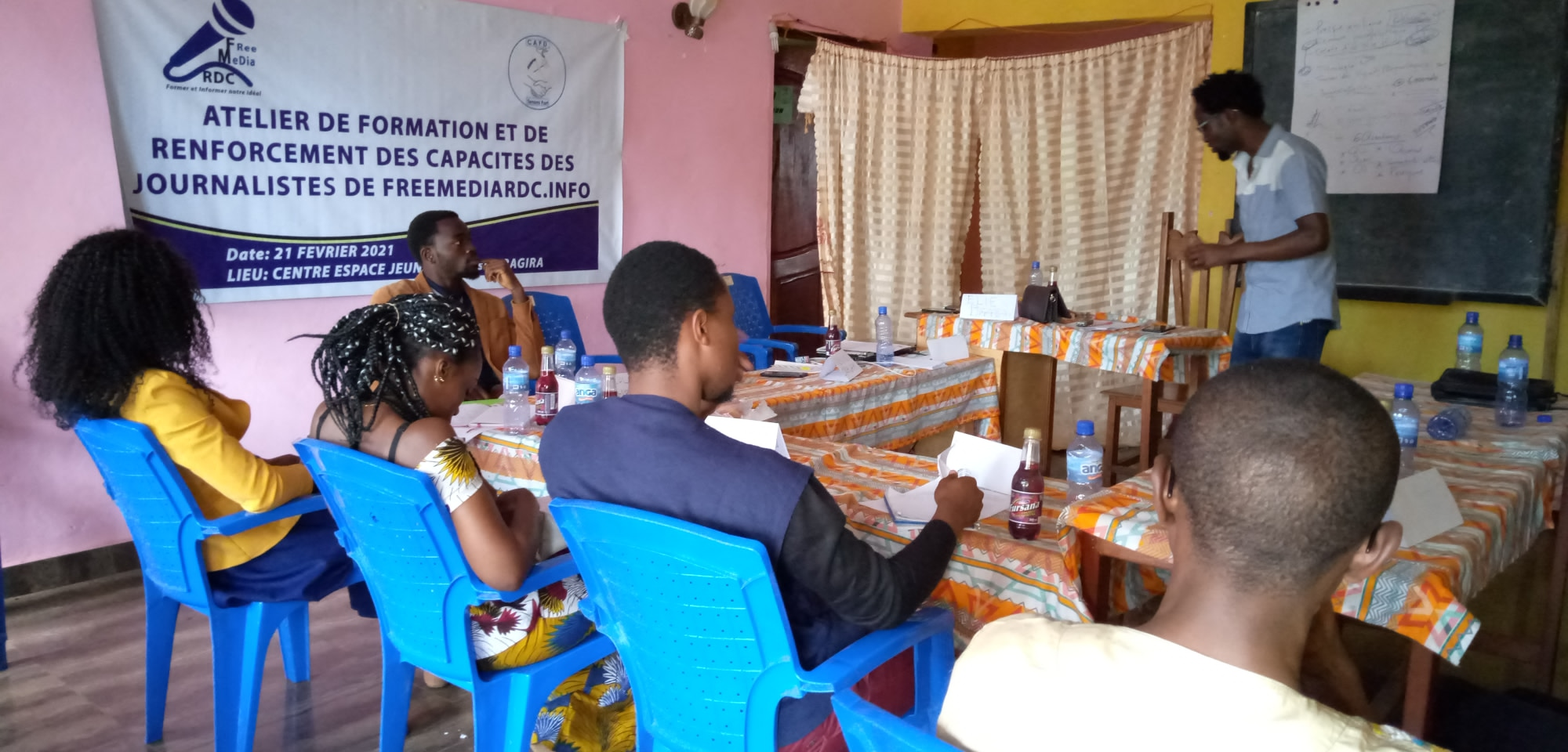 Sud-Kivu : Freemediardc outille ses journalistes sur la rédaction et la publication d'un article de presse