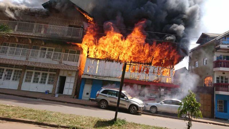Bukavu : Trois maisons calcinées dans un nouvel incendie au quartier Nyalukemba