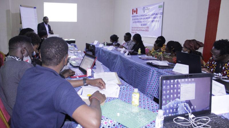 Sud-Kivu : Des Journalistes formés par JDH s'engagent à travailler dans la couverture médiatique sensible au genre