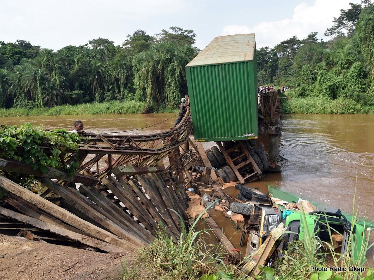Sud-Kivu: Pas de reprise scolaire à Shabunda suite à l'écroulement d'un pont allant vers des écoles