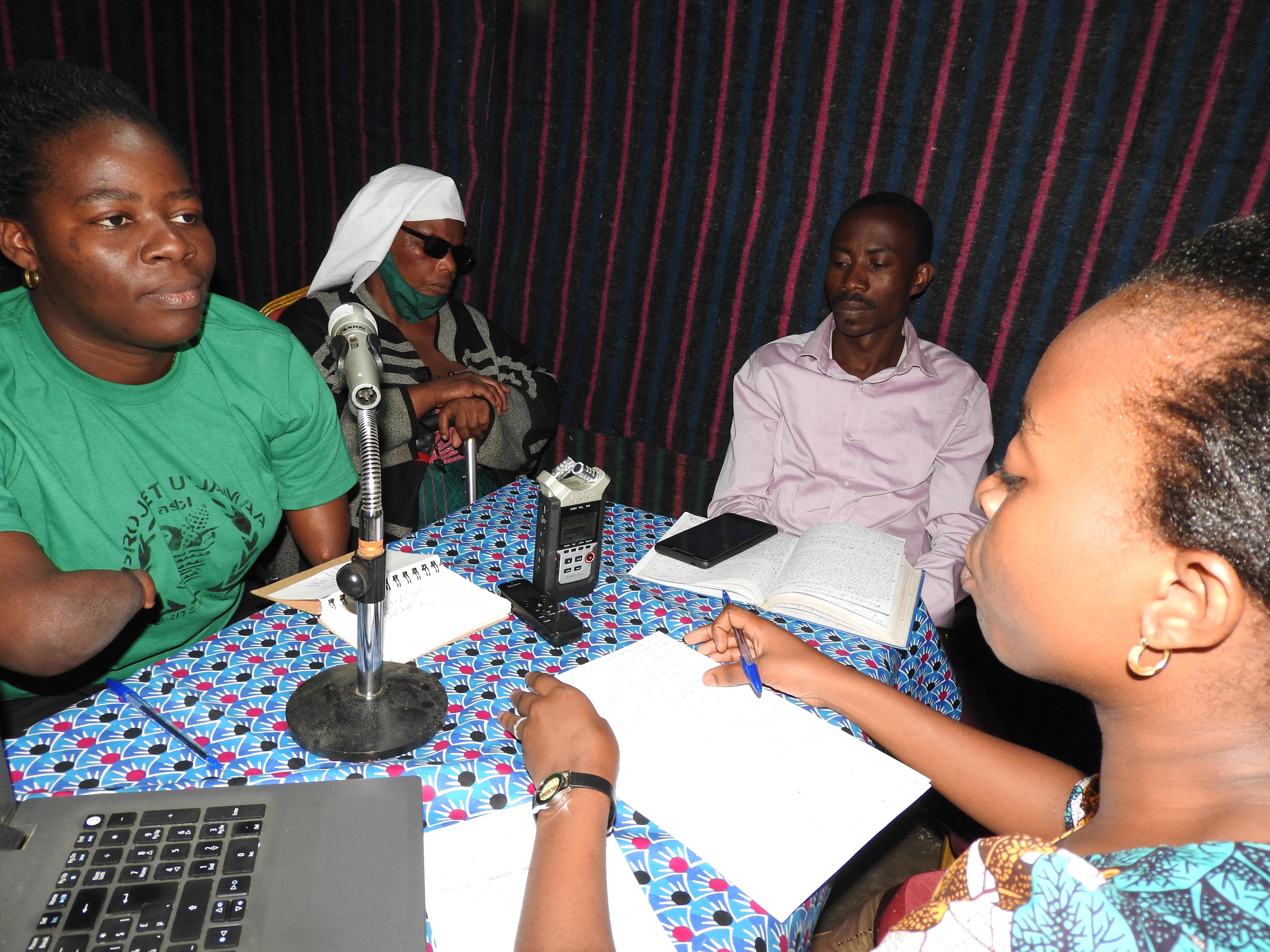 Sud-Kivu: Des personnes vivant avec handicap plaident pour leur intégration aux postes de prise des décisions (Emission JDH)