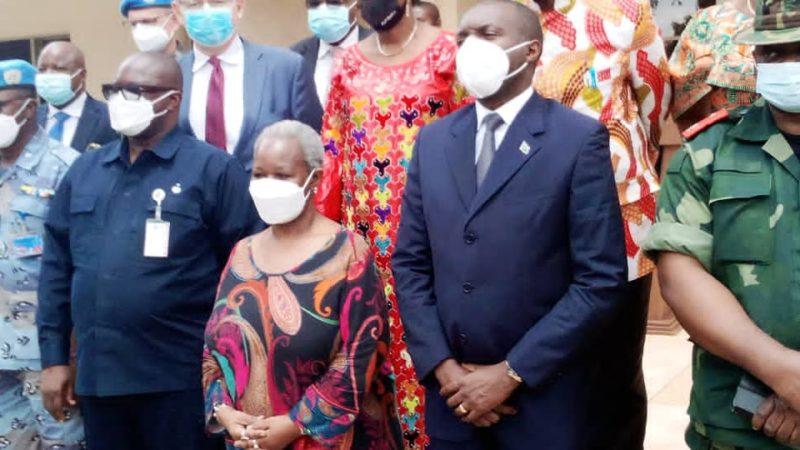 A Bukavu, Bintou Keita certifie le soutien de la MONUSCO dans la recherche de la paix dans l'Est de la RDC