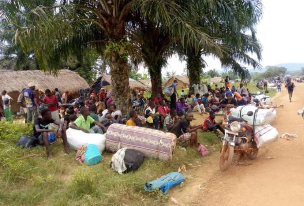 Fizi: Des déplacements massifs de la population signalés à Kabambare suite aux affrontements entre un groupe armé et les FARDC