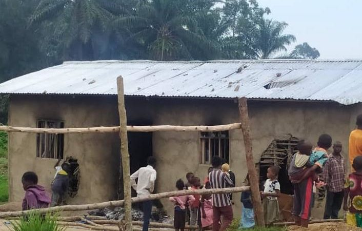 Beni : Une maison d'un officier militaire incendiée par des présumés bandits armés à Butsili