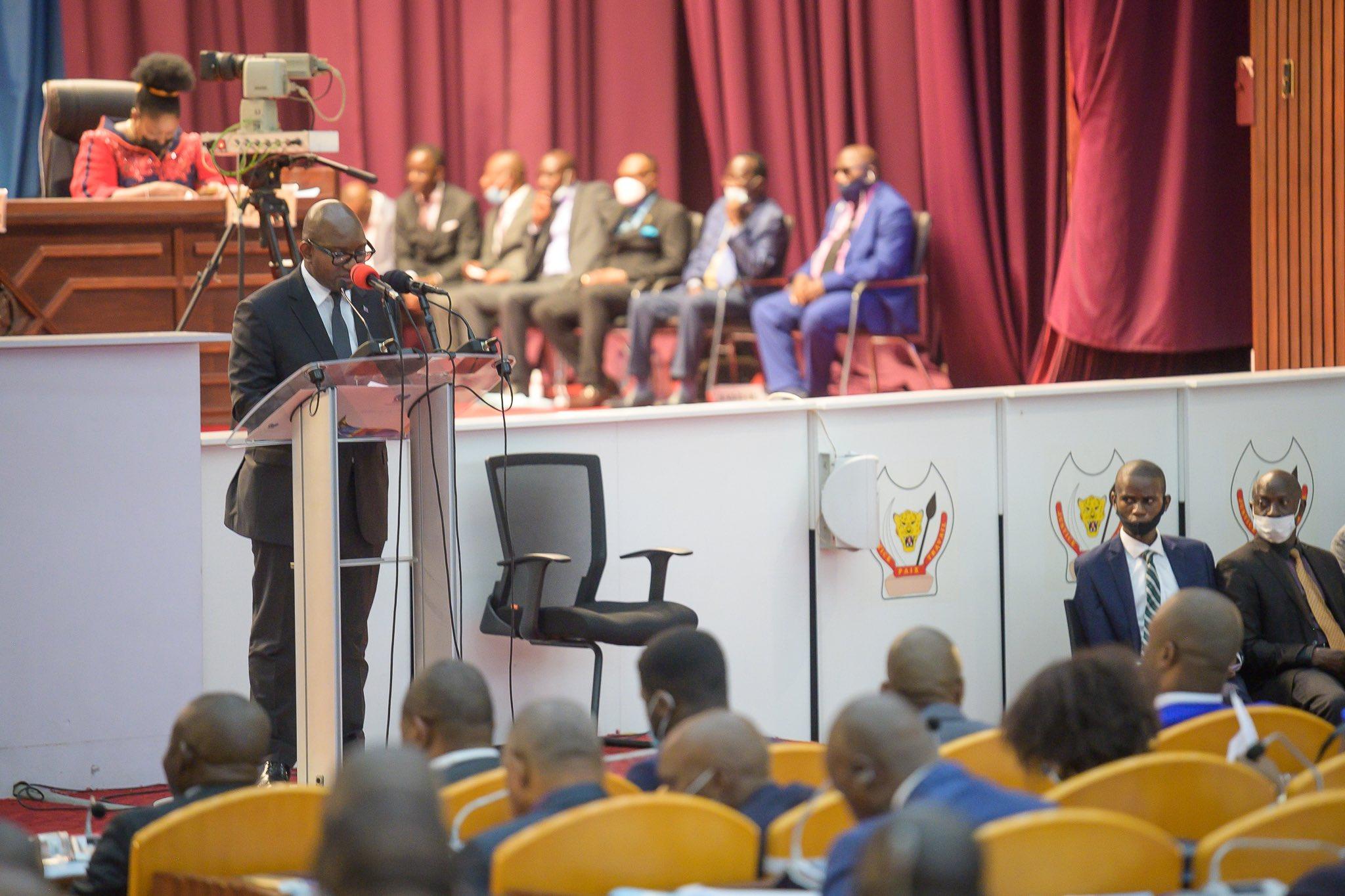 RDC/ Programme du gouvernement : «la pacification de l'Est est une urgence nationale », Sama Lukonde