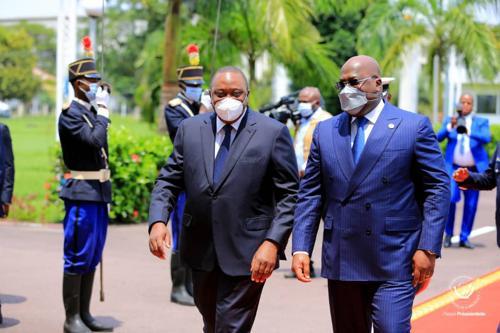 RDC : Avec l'appui des troupes Kenyane, Félix Tshisekedi promet une riposte impitoyable  contre les violences faites à l'Est.