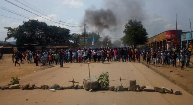 Nord-Kivu : Une quarantaine des jeunes interpellés dans une manifestation contre la Monusco à Butembo
