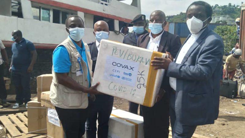 COVID-19/Sud-Kivu: Voici les premiers bénéficiaires du vaccin Astra Zeneca dès ce 30 avril.
