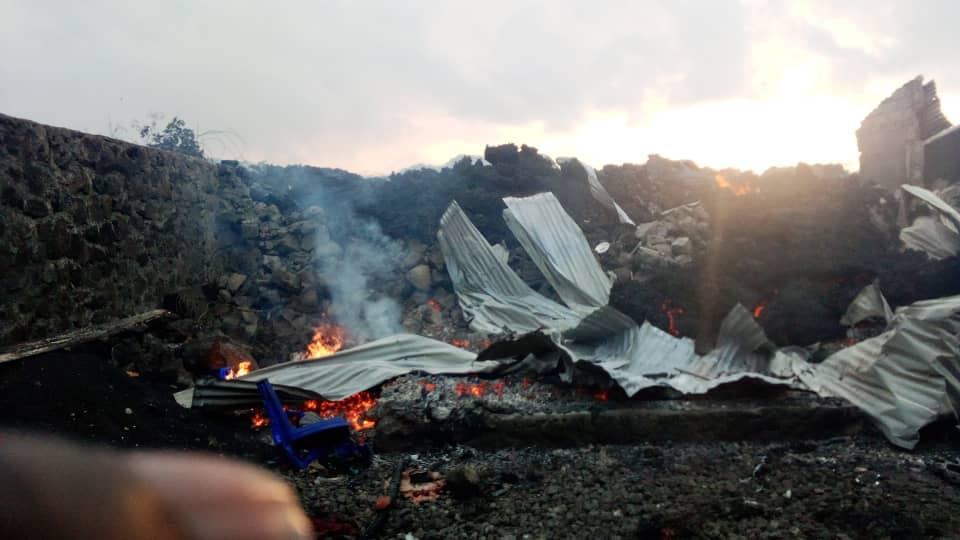 Goma/Eruption volcanique: La ville n'est pas encore épargnée. Des forts seismes se font ressentir