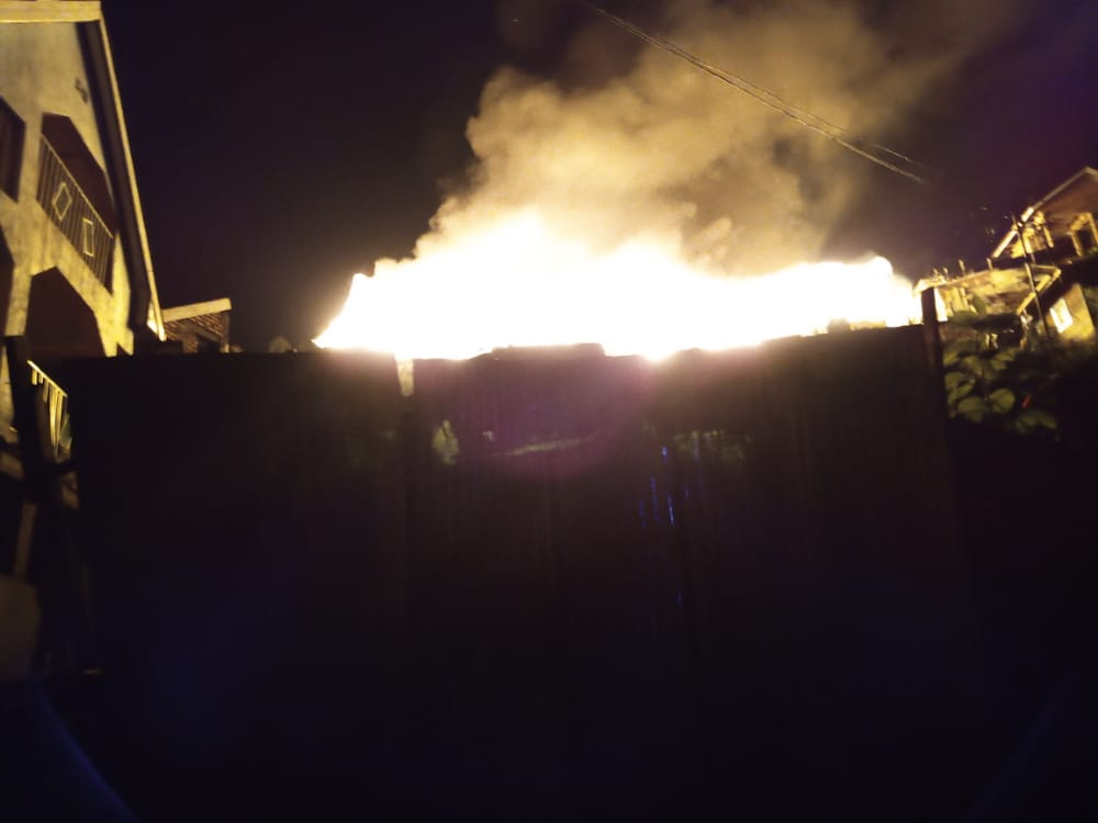 Bukavu: Plusieurs maisons prennent feu au quartier Nkafu.