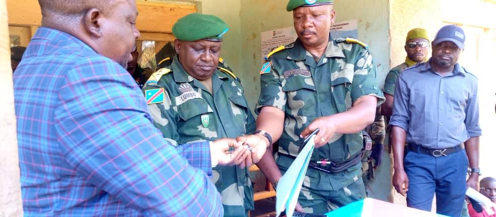 Nord-Kivu/ Etat de siège : le colonel Charles OMEONGA est le nouvel administrateur de Beni. Il remplace Donat Kibwana