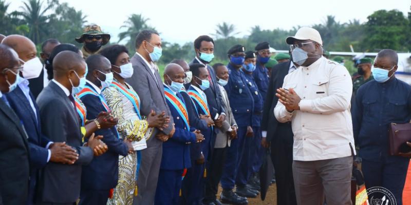 """État de siège: Félix Tshisekedi aux habitants de Beni """"je vais en finir avec ces criminels qui détruisent les générations entières des congolais et congolaises"""""""