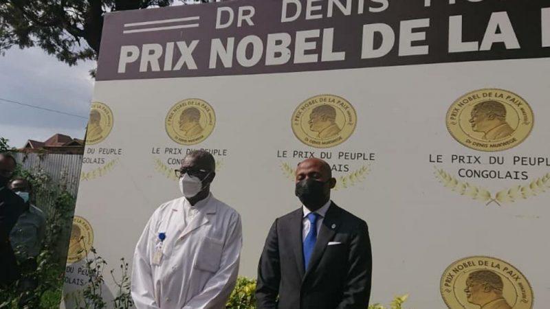 RDC: Le porte parole du gouvernement congolais Patrick Muyaya salue l'engagement et le patriotisme du Dr. Dénis Mukwege