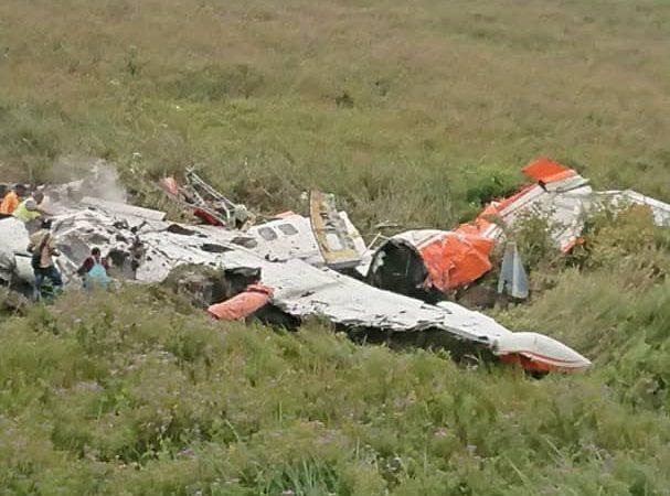 Crash d'avion: Théo Kasi présente ses condoléances aux familles éprouvées