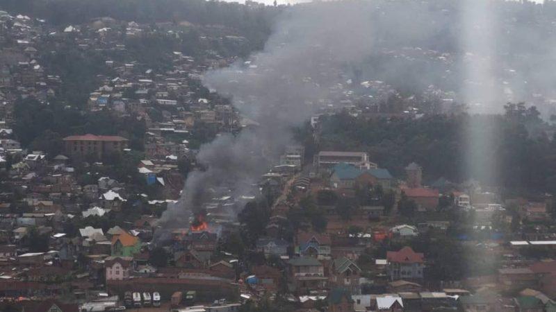 Bukavu: Plus de dix maisons calcinées et 5 autres endommangées dans un nouvel incendie notifié au quartier Nkafu