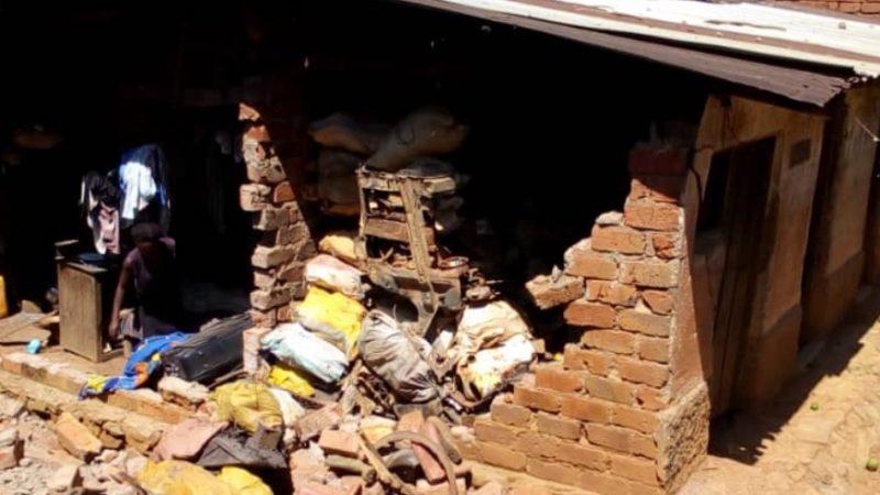 Sud-Kivu: Un double tremblement de terre fait un bilan de 4 personnes blessées et des maisons écroulées á Kamituga