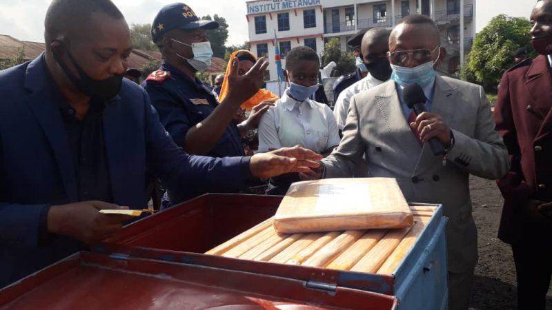 Nord-Kivu: Le vice gouverneur Romuald Ekuka lance officiellement les épreuves préliminaires des examens d'état édition 2021