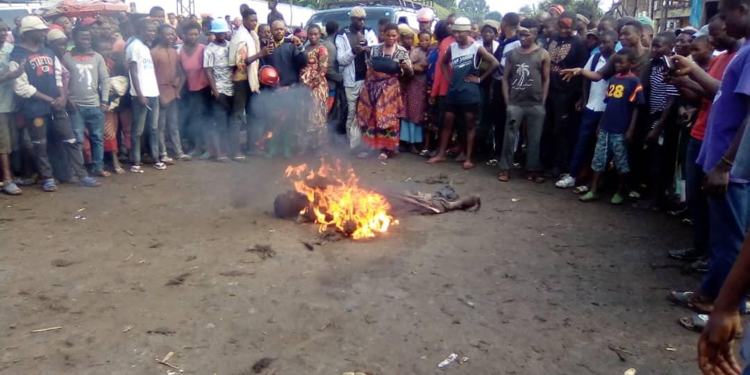 Kalehe: Un présumé voleur lynché par la population en colère à Makengere