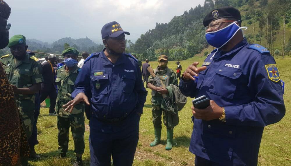 Nord-Kivu: Le colonel Iduma Molengo déterminé à mettre fin à l'insécurité notifiée dans le territoire de nyiragongo