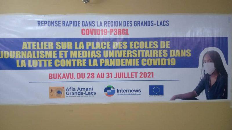 Bukavu : l'accès des populations à l'information fiable sur la Covid-19 au centre d'un atelier organisé par Internews