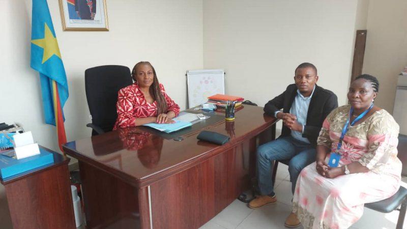 RDC : le collectif 2250 dans les murs de la conseillère du Chef de l'Etat en charge de la jeunesse