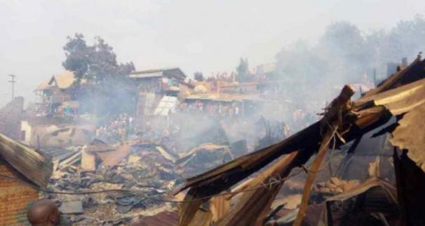 Bukavu: deux maisons et plusieurs biens de valeur partie en fumée à Nkafu