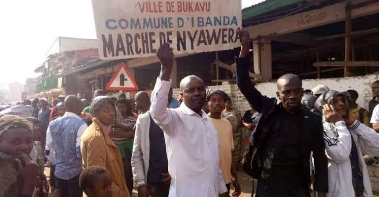 Bukavu: La campagne de désobéissance fiscale annoncée au marché de Nyawera pour exiger sa construction