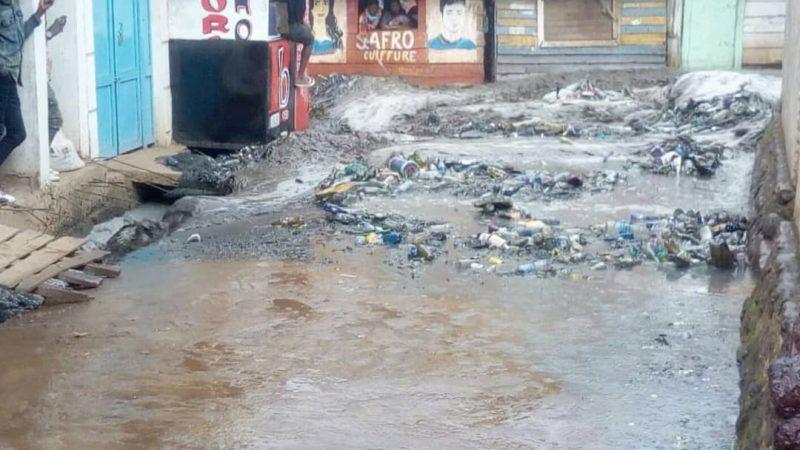 Bukavu : après une forte pluie, des dégâts importants sont notifiés au quartier Ndendere