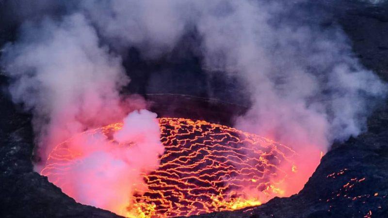 Nord-Kivu/Éruption volcanique : Le Gouverneur militaire intérimaire interdit formellement l'utilisation et la consommation du sel de volcan (Communiqué)