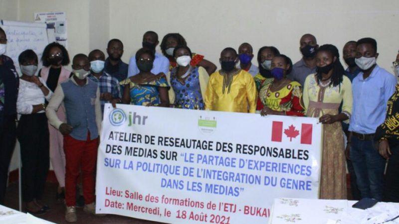 Sud-Kivu : une plate forme de 20 média vient d'être formé pour la promotion du genre à l'issue d'un atelier animé par JDH