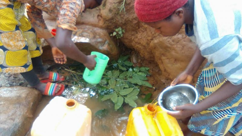 Kalehe: OBAPG alerte les autorités provinciales sur la pénurie en eau potable dans le groupement de Kalonge