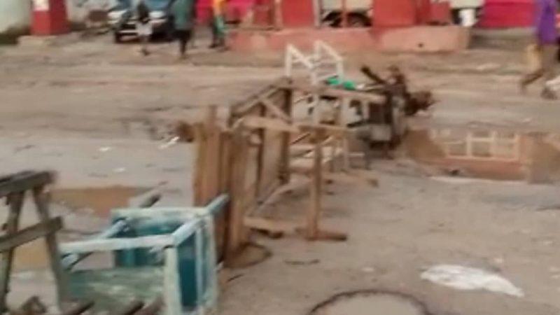 Uvira: Les jeunes de la communauté Bavira barricadent la RN5 pour protester contre l'installation du nouveau chef de groupement de Bijombo