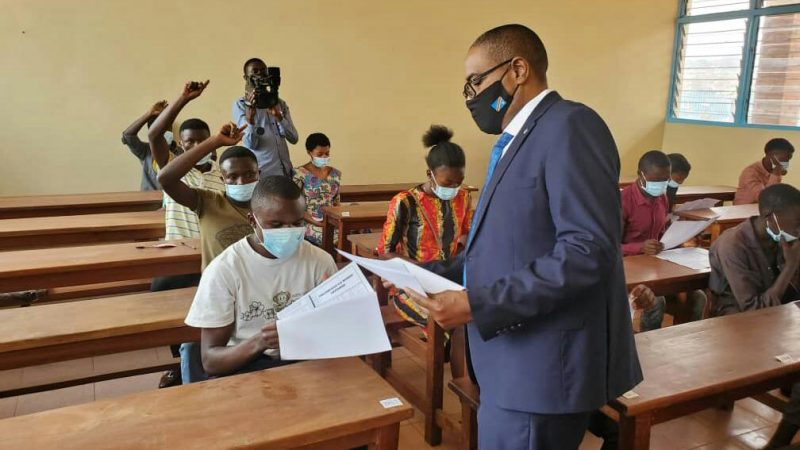 Sud-Kivu : 1132 candidats ont répondu présent à la session ordinaire de fin d'études professionnelles