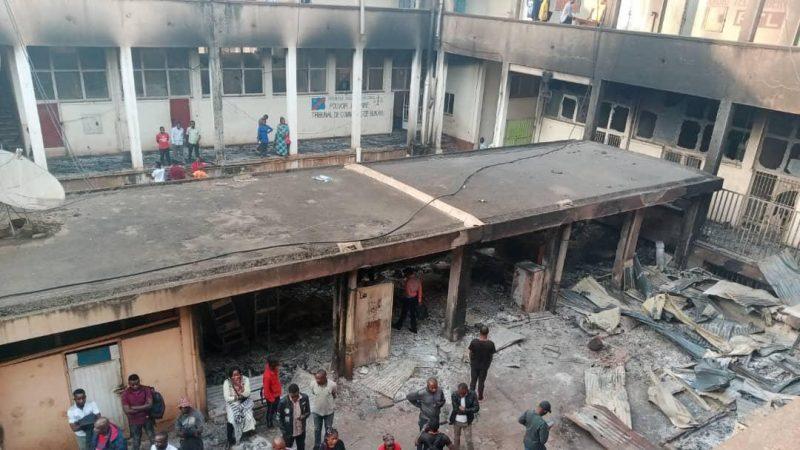 Bukavu: L'incendie de l'hôtel de poste offre un chômage obligé à plusieurs entrepreneurs
