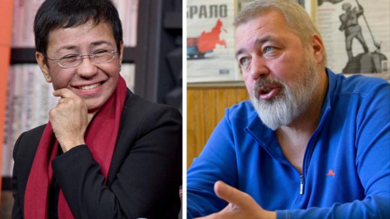 Les journalistes Maria Ressa et Dimitri Muratov reçoivent le Prix Nobel de la paix pour la liberté de la presse
